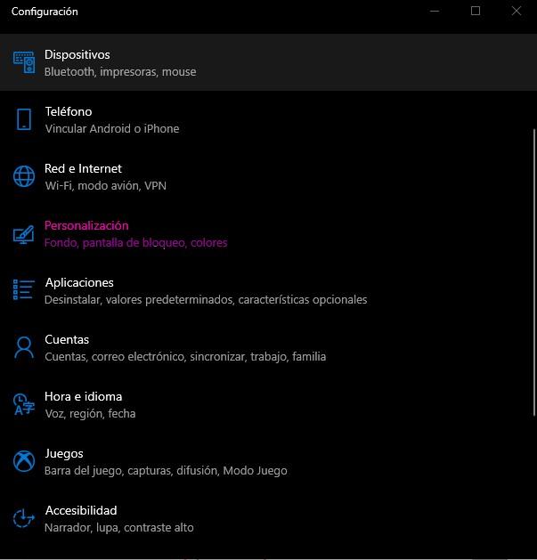 elegir la fuente nueva de Windows 10
