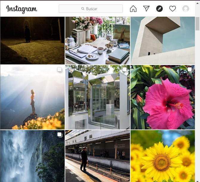 Subir fotos a Instagram desde nuestro navegador de PC.