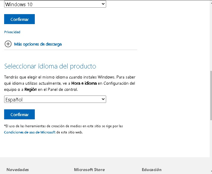 clave de producto windows 10