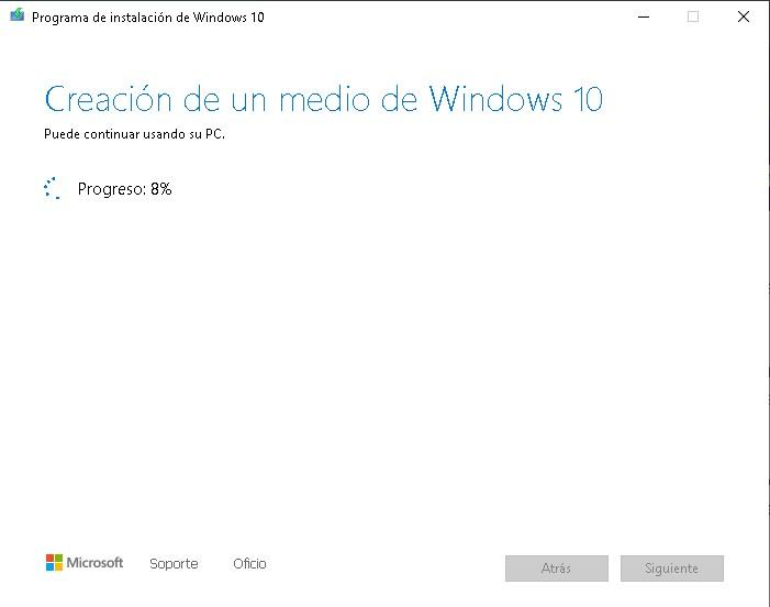 como crear un disco de arranque en windows 10