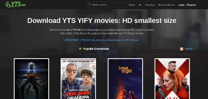 YTS MX YIFI MOVIES